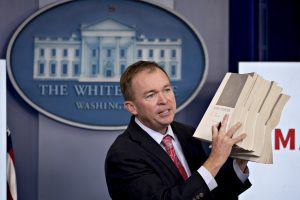 MULVANEY REGULATORY AGENDA