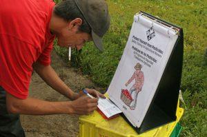 Harwood pesticide worker training