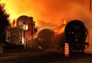 lac megantic incinerated chemical