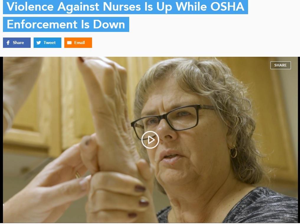violence nurses